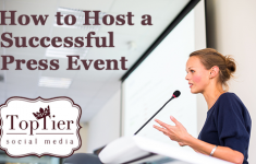 How to host a successful press / blogger event for your brand.